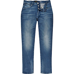 Light blue wash Jimmy slim tapered jeans