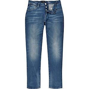 Light blue wash Jimmy slim tapered jeans