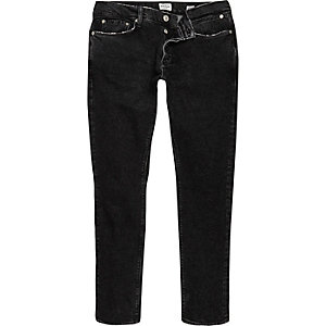 Black Eddy skinny stretch jeans