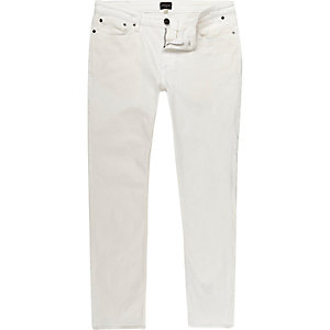 White Eddy skinny stretch jeans