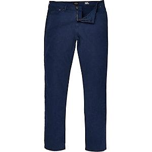 Dark blue Eddy skinny stretch jeans