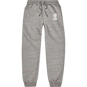 Grey Franklin & Marshall print joggers