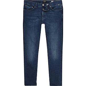 Dark blue wash Eddy skinny jeans