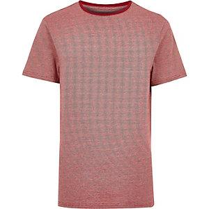Red stripe ringer t-shirt