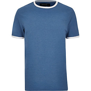 Blue ringer T-shirt