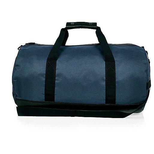 Navy duffel bag
