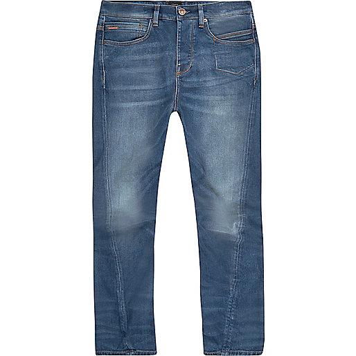 Curtis – Legere Jeans in mittelblauer Waschung