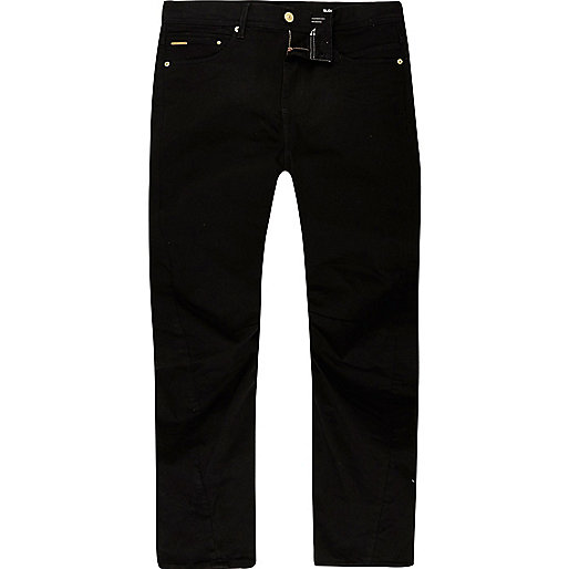 Black Curtis slouch fit jeans