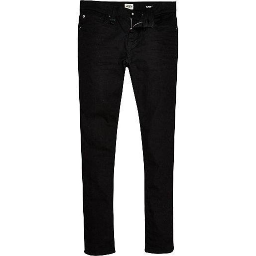 Black RI Flex Danny super skinny jeans