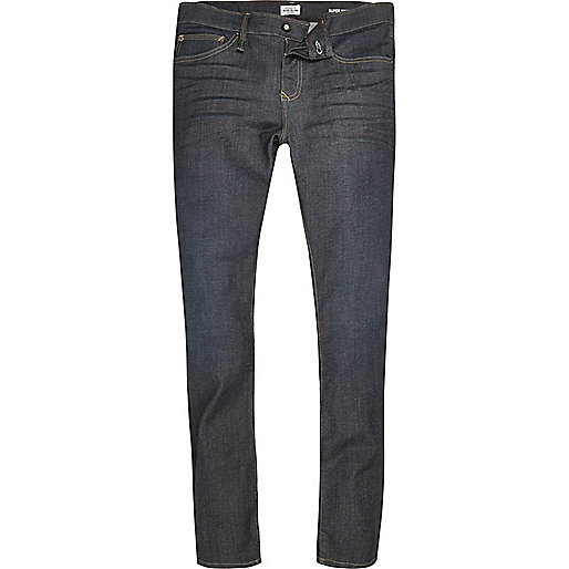 Dark blue wash RI Flex Danny skinny jeans