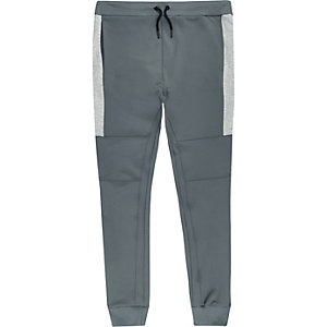 Grey sporty joggers