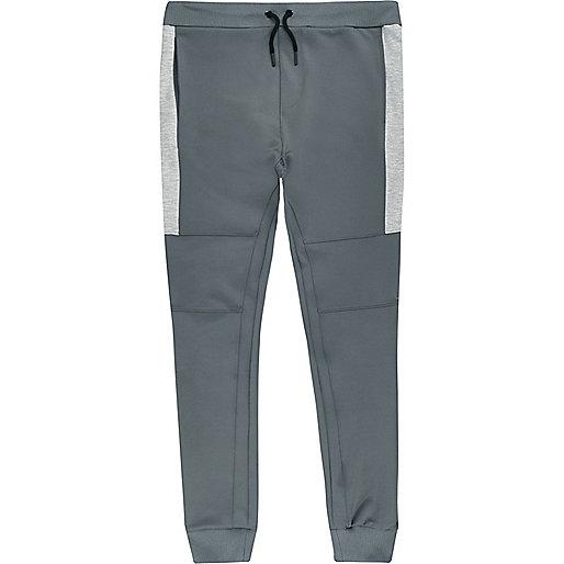 Grey sporty joggers