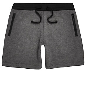 Grey sport shorts