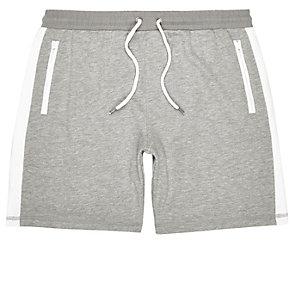 Grey jogger shorts