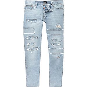 Light blue Eddy skinny jeans