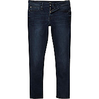 Dark blue RI Flex Danny super skinny jeans