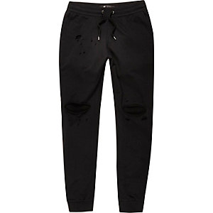 Black Only & Sons ripped joggers