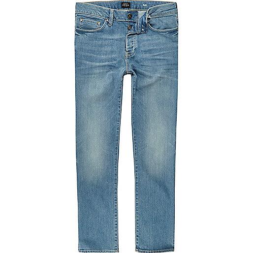 Jean slim Dylan bleu moyen