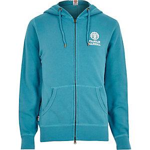 Blue Franklin & Marshall hoodie