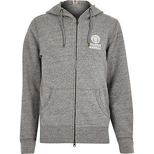 Grey marl Franklin & Marshall hoodie