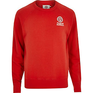 Red Franklin & Marshall branded sweater