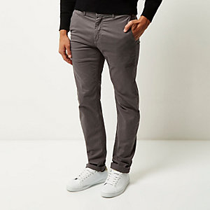 Dark grey Franklin & Marshall chino pants