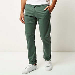 Green Franklin & Marshall chino pants
