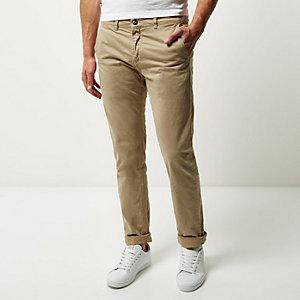 Beige Franklin & Marshall chino pants