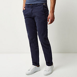Dark blue Franklin & Marshall chino pants