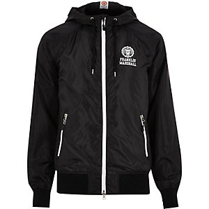Black Franklin & Marshall zip jacket