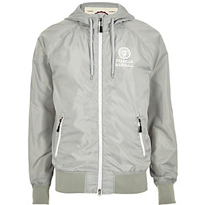 White Franklin & Marshall zip jacket