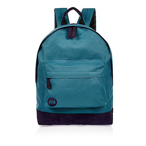 Green Mi-Pac contrast backpack