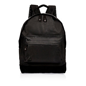Black Mi-Pac topstars print backpack