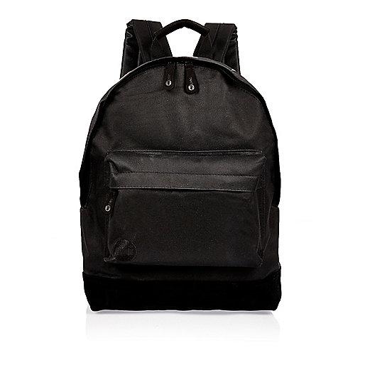 Black Mi-Pac topstars print backpack