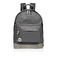 Dark grey Mi-Pac backpack