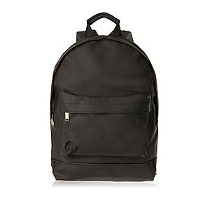 Black rubber trim Mi-Pac backpack