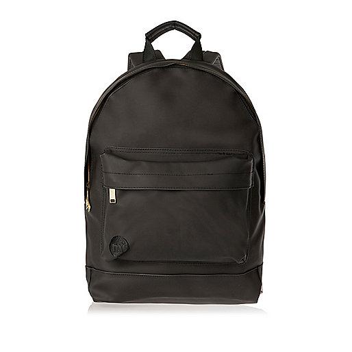 Black rubber trim Mi-Pac backpack