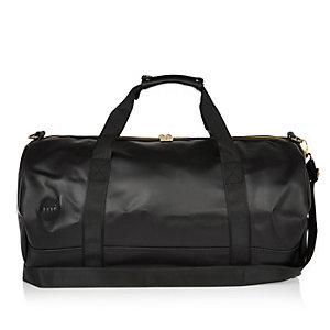 Black rubber Mi-Pac duffel bag