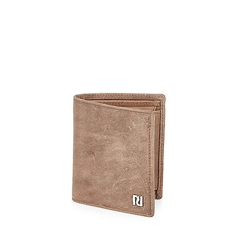 Ecru fold out wallet