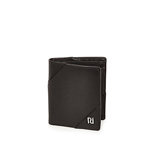 Black fold out wallet