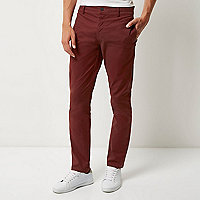 Berry slim fit pants