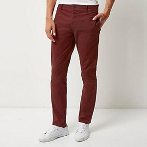 Berry slim fit pants