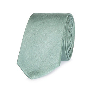 Sage green formal tie
