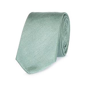 Sage green formal tie