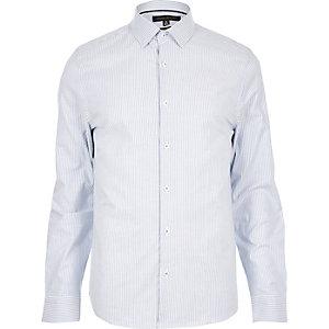 Blue stripe Oxford shirt