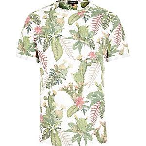 White cactus t-shirt