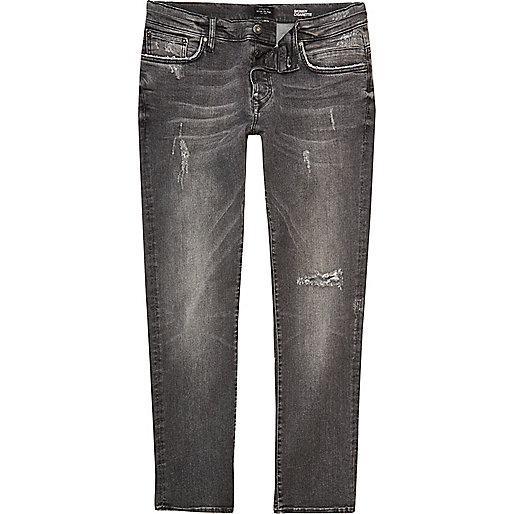 Grey Ronnie skinny cigarette jeans