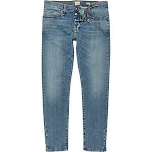 RI Flex – Sid – Skinny Jeans in hellblauer Waschung