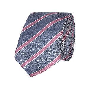 Blue stripe tie