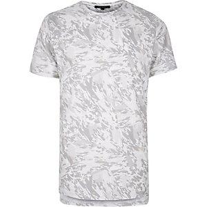 Ecru print t-shirt